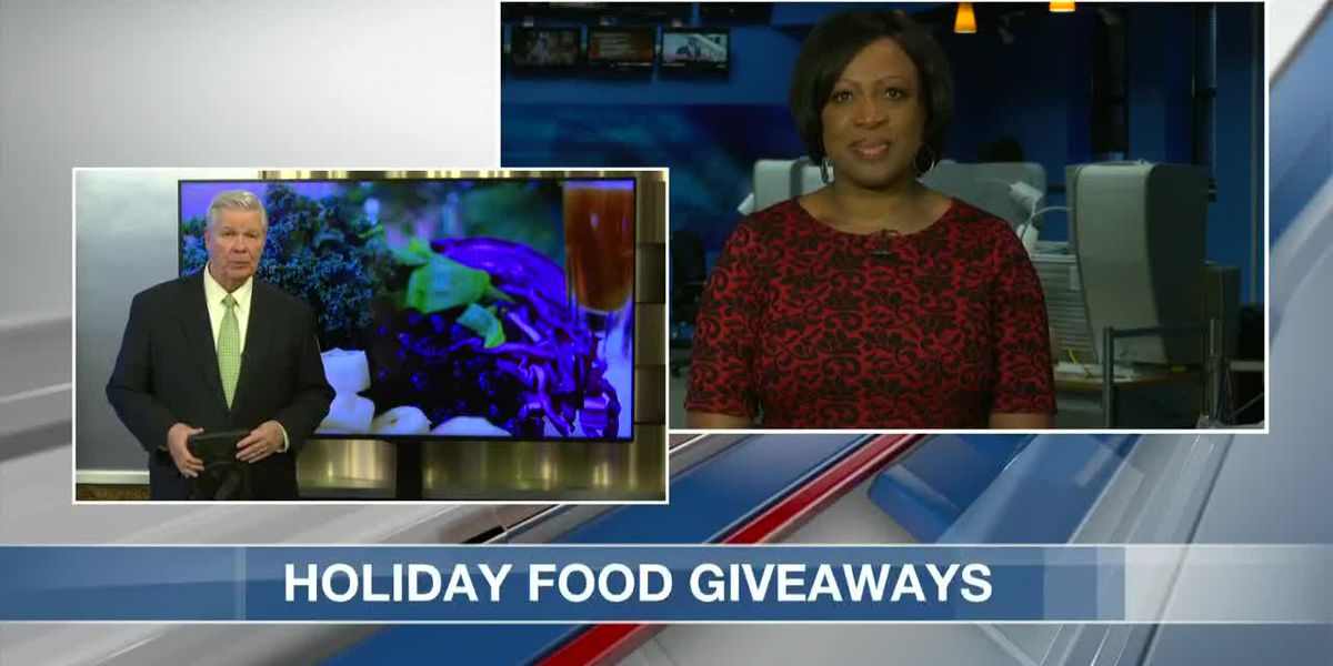 VIDEO: Charleston churches, groups hosting food giveaways