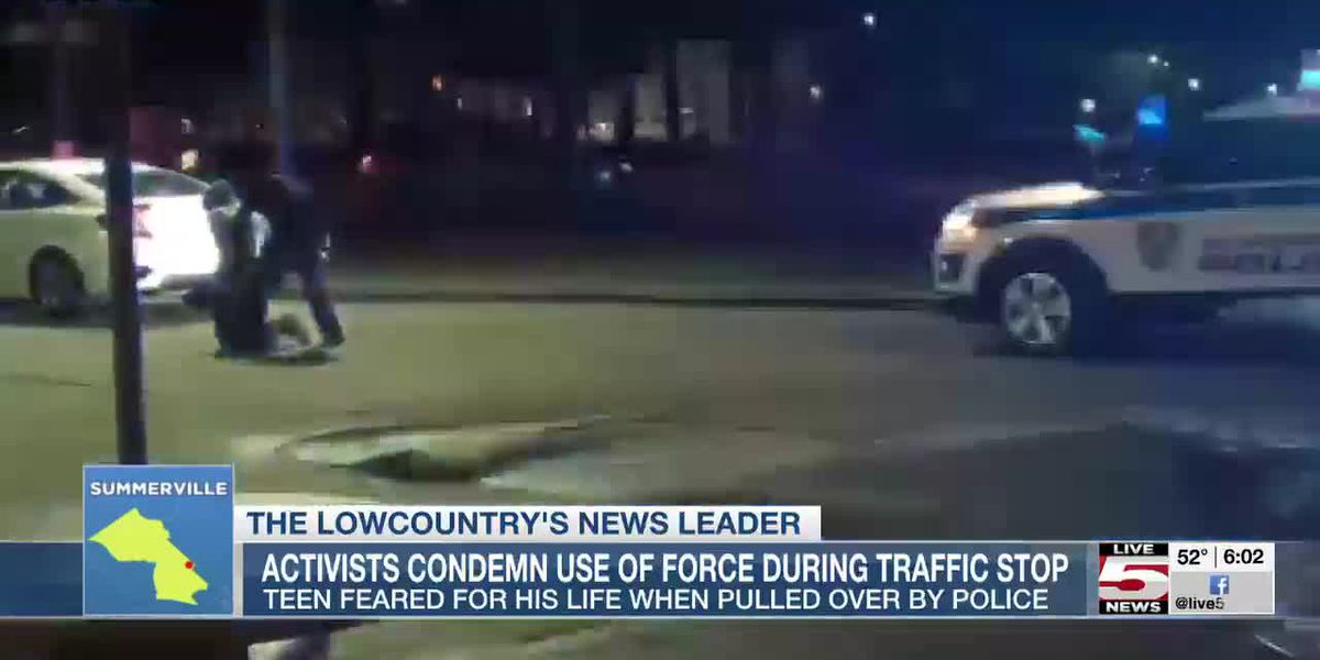 VIDEO: Activists question use of force during traffic stop in Summerville