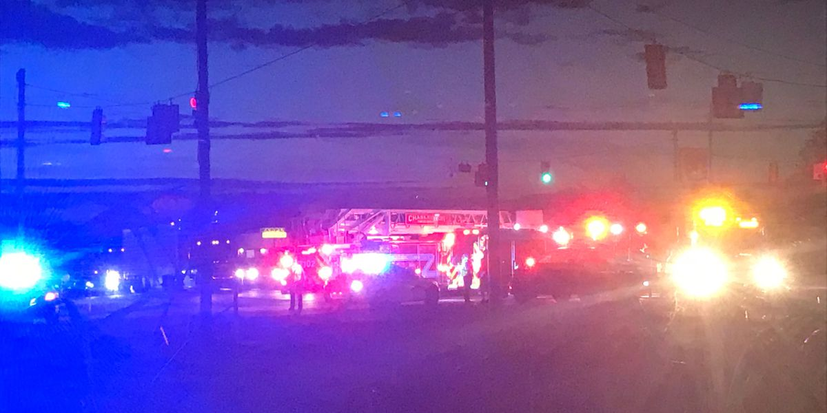 Dangerous crash reported in West Ashley