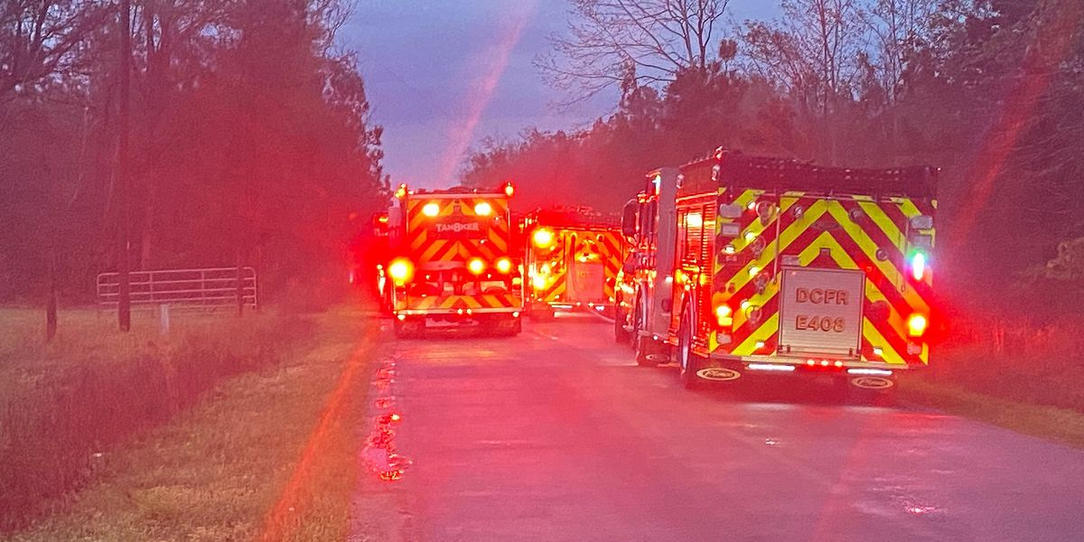 Officials: Lightning likely started house fire in Dorchester County