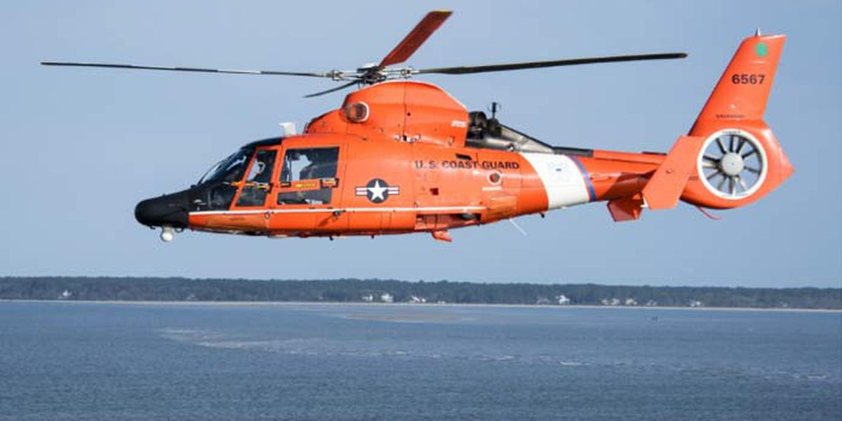 Coast Guard medevacs man from cargo vessel to Charleston