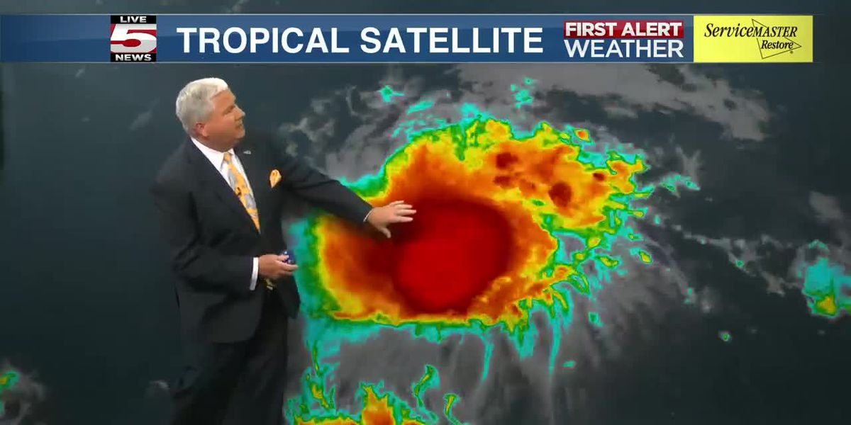 VIDEO: Tropical Storm Josephine expected to turn back towards the east before U.S. approach