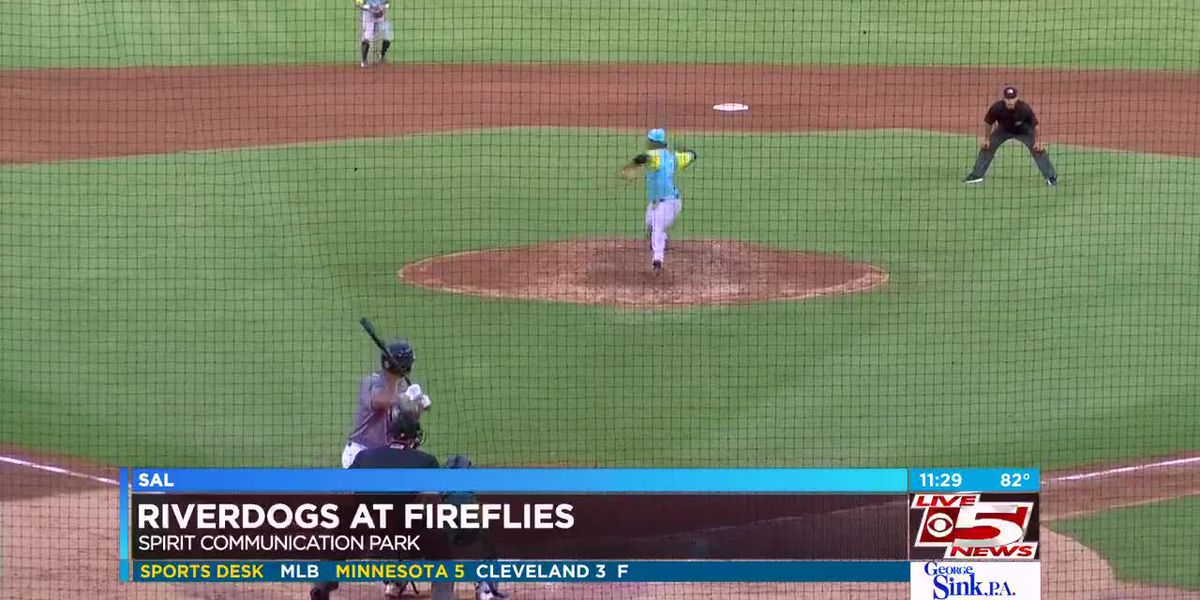 VIDEO: RiverDogs win in extra innings in Columbia