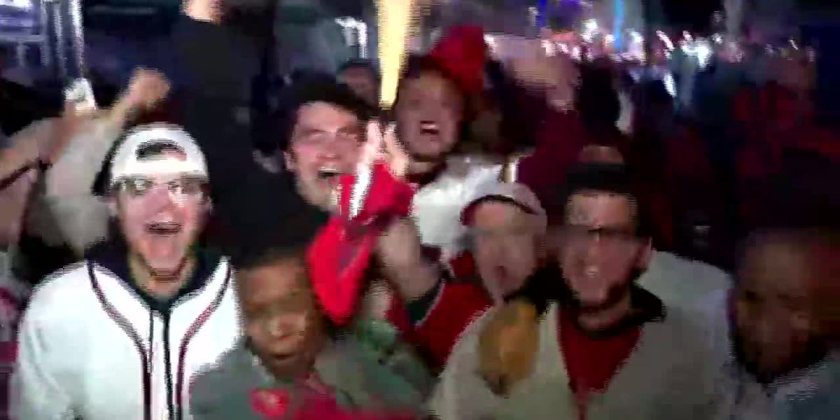 RAW: Washington Nationals fans celebrate win
