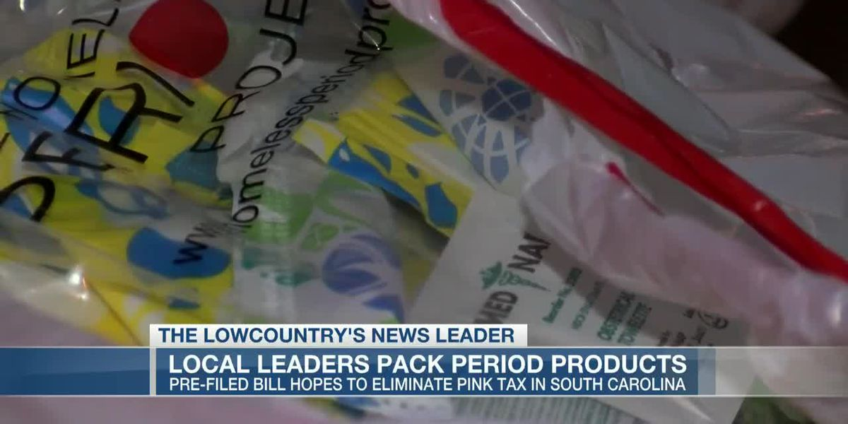 VIDEO: Groups pack feminine hygiene products as bill to remove tax gains support