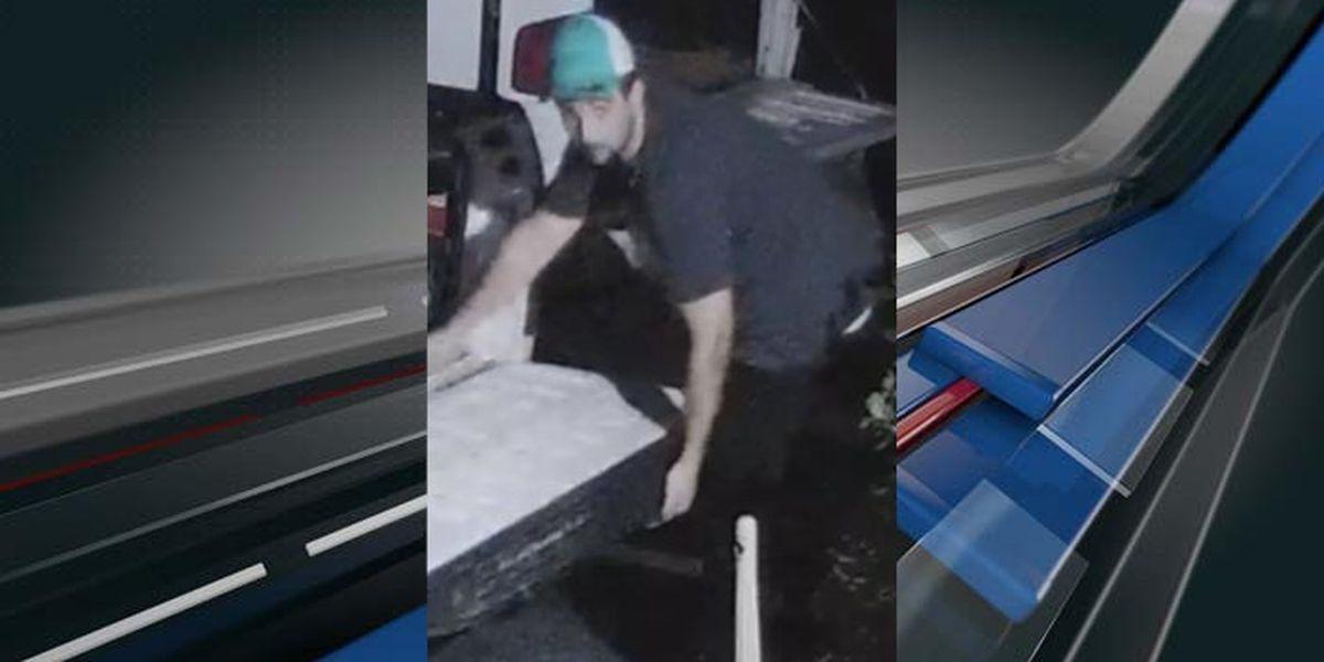 Beaufort deputies seek help identifying suspect in generator theft