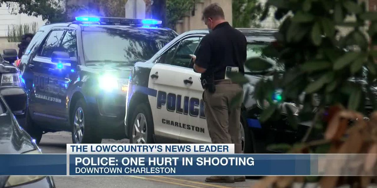 VIDEO: Charleston detectives investigating shooting that sent man to the hospital