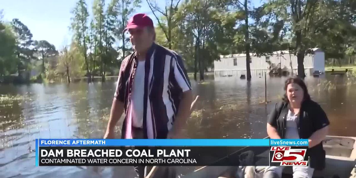 VIDEO: Coast Guard rescue crews helping people evacuate from flooded Horry Co. homes