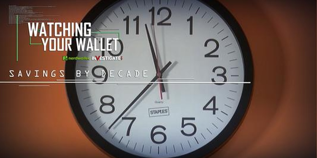 Watching Your Wallet: Savings By Decade