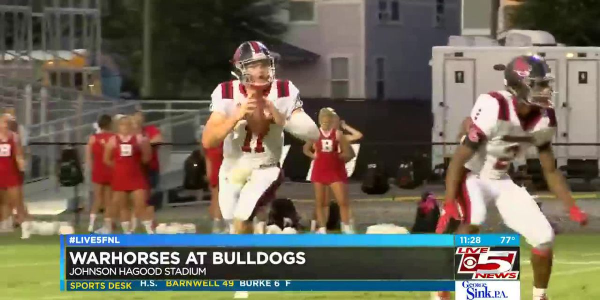 VIDEO: Burke falls at home to Barnwell