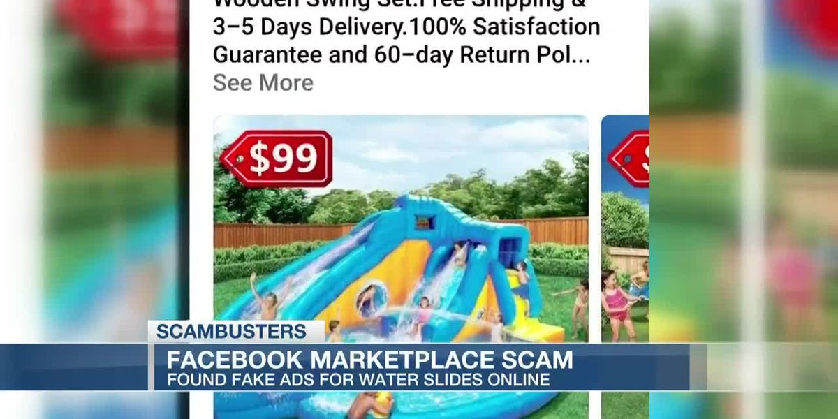 VIDEO: Live 5 Scambusters: Water slide scams sliding into Facebook Marketplace