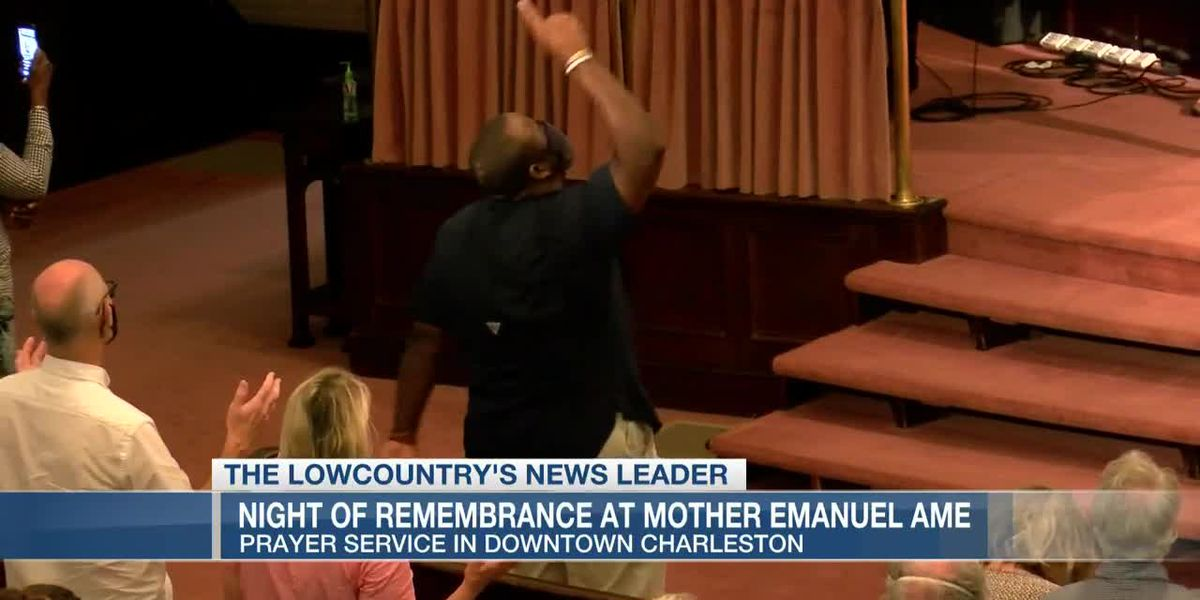 VIDEO: Wednesday night prayer service brings churches together after Calhoun statue's removal
