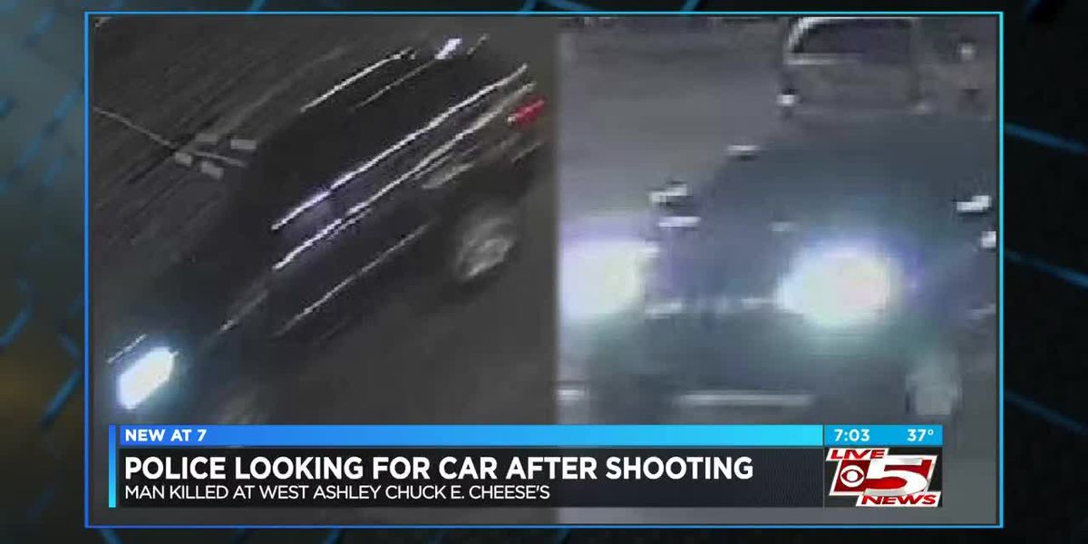 Police looking for info on vehicle seen speeding away after fatal shooting at Chuck E. Cheese's