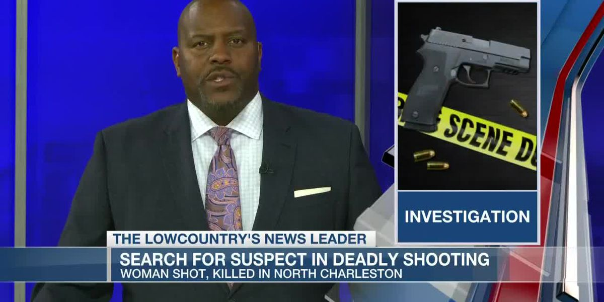 VIDEO: Police searching for suspect after woman killed in North Charleston shooting