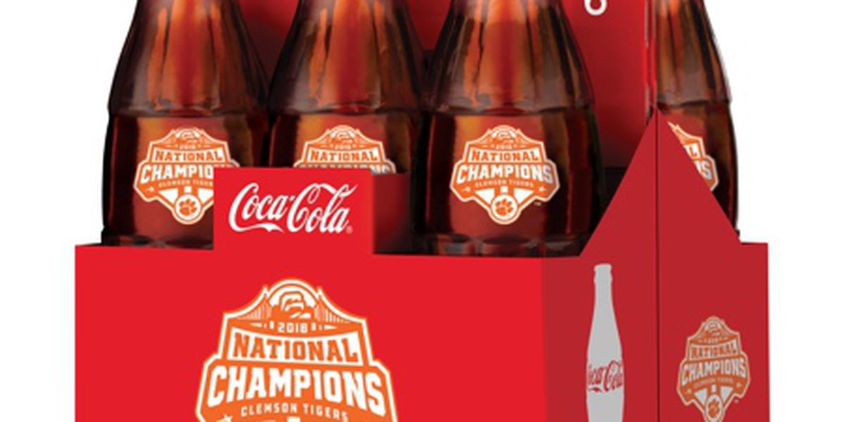 Coca-Cola to release Clemson national championship glass bottles