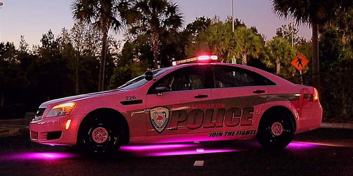 North Charleston Police cruiser goes pink for Breast Cancer Awareness Month