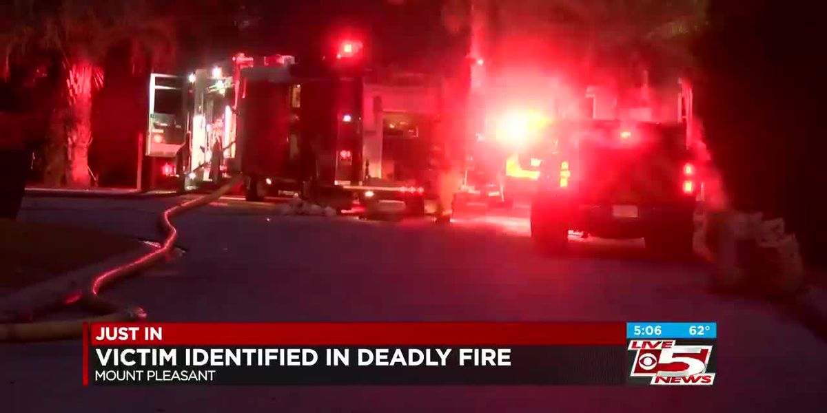 VIDEO: Coroner identifies man who died in 'suspicious' Mt. Pleasant house fire