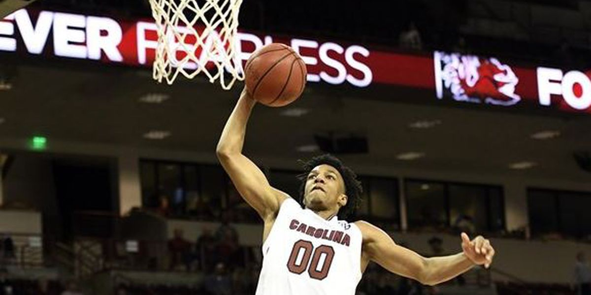 South Carolina G Lawson out 2 games with ankle sprain