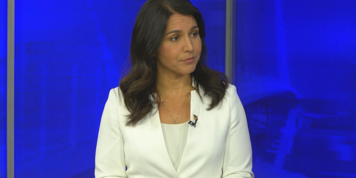 Tulsi Gabbard 'not paying attention' to polls ahead of Caucus Day