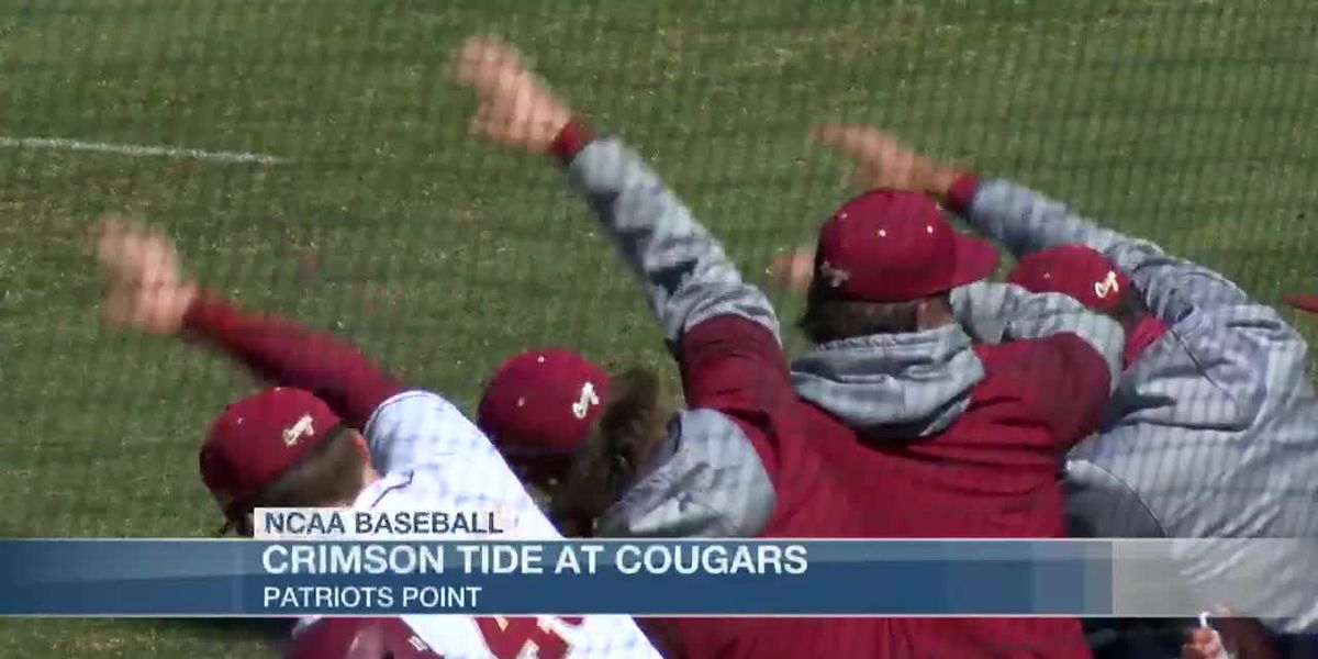 VIDEO: Big Third Inning Propels No. 23 Crimson Tide to Sunday Victory Over Cougars