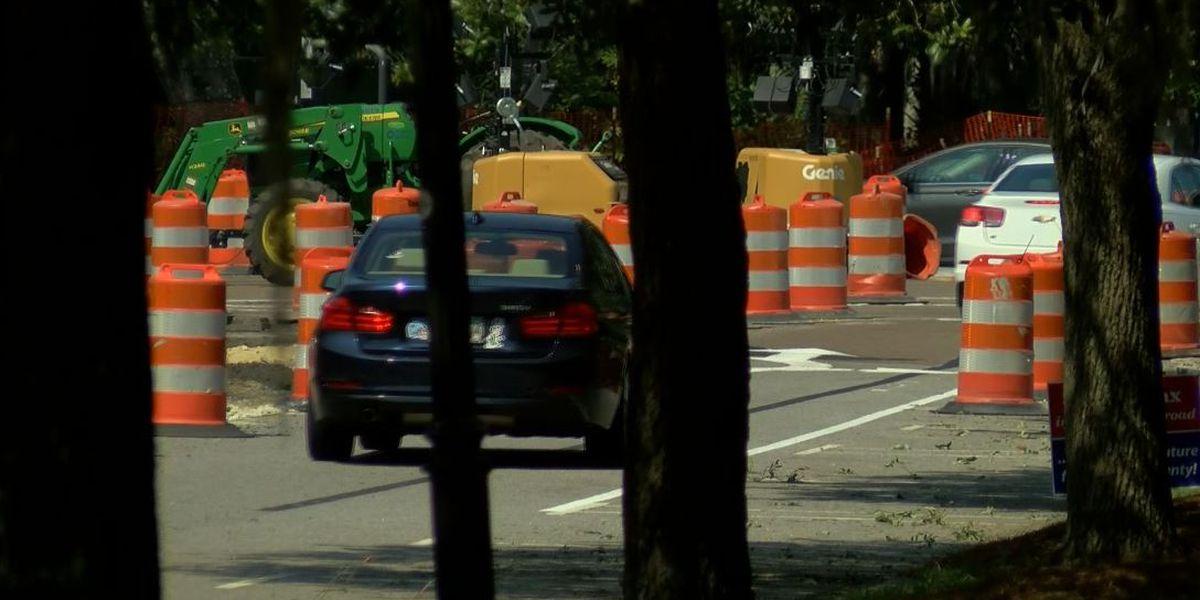FIRST ALERT TRAFFIC: Roadwork expected to cause delays on Daniel Island