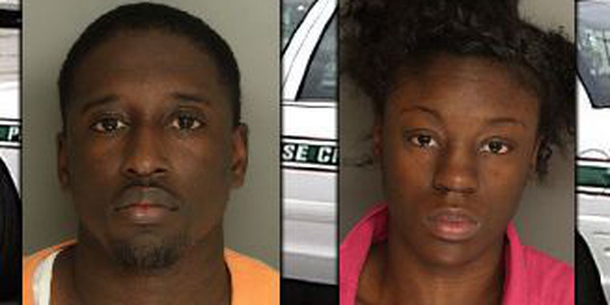 2 charged, 1 sought after deputies find cocaine, stolen gun at Goose Creek home