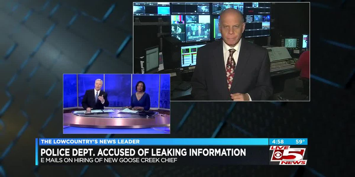 VIDEO: Emails accuse officers of leaking new Goose Creek chief's name to media