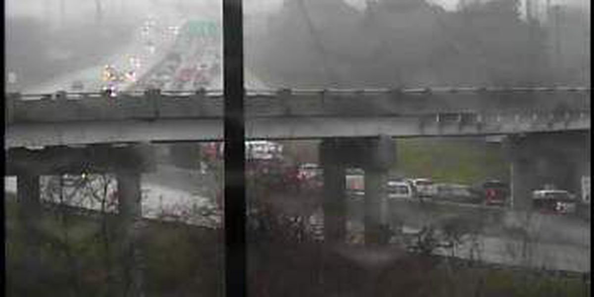 Lanes reopened after accident on I-26 EB