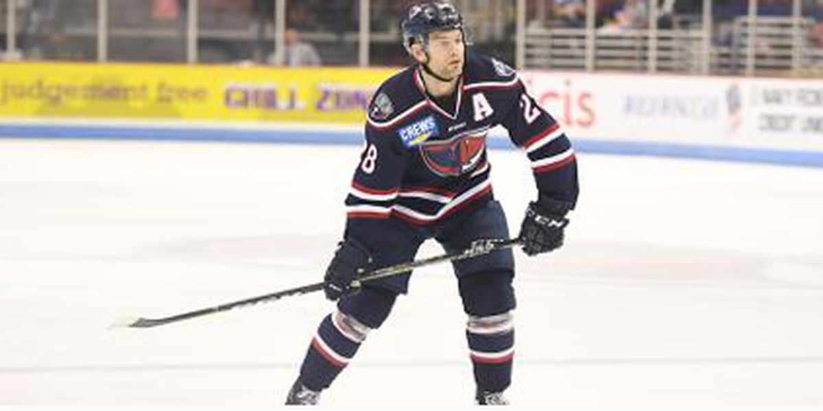 Cherniwchan's Hat Trick Leads SC To Victory Over Icemen