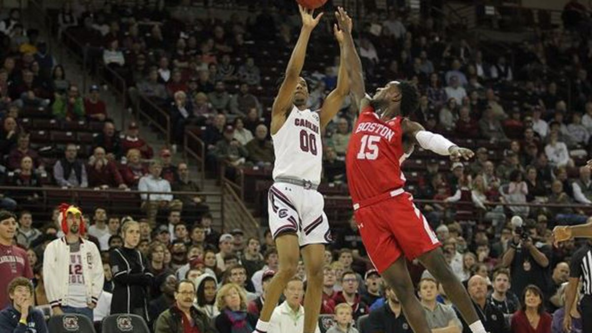 Gamecocks Handed First Loss, 78-70, by BU