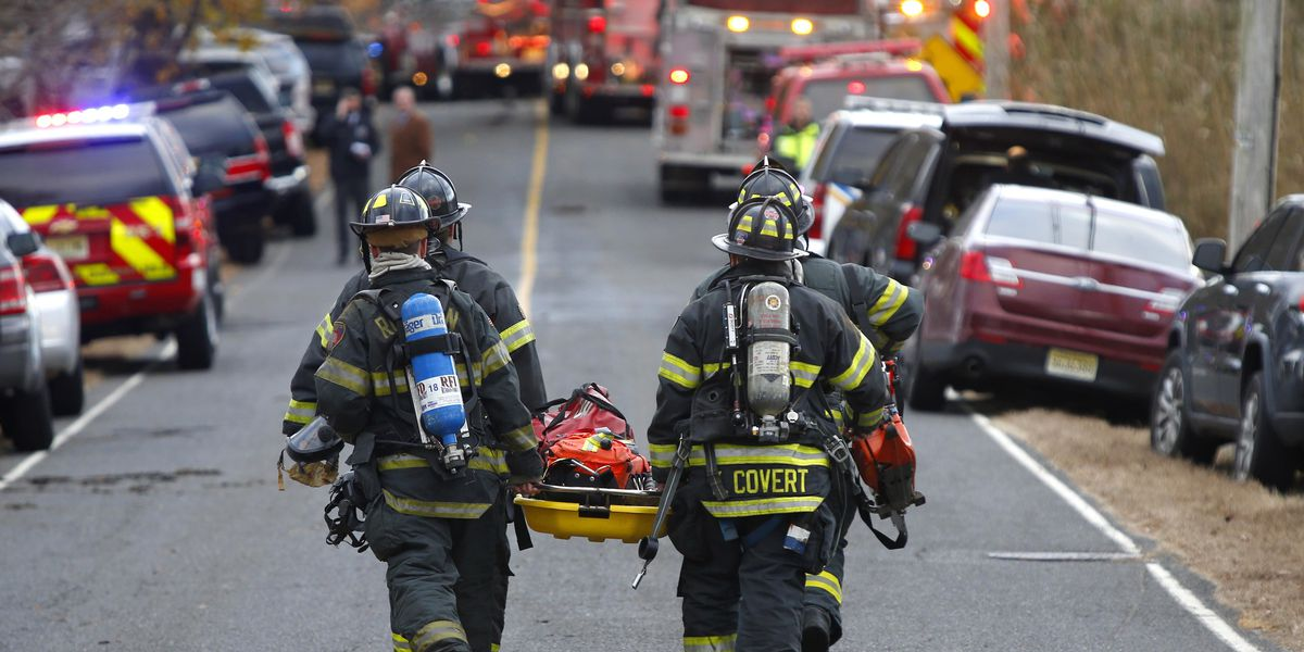 4 in New Jersey mansion fire killed by 'homicidal violence'