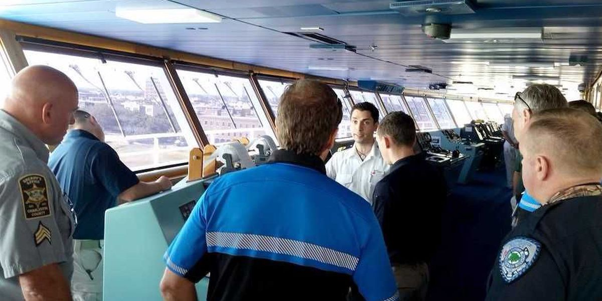 Charleston seaport agencies train with cruise ship industry