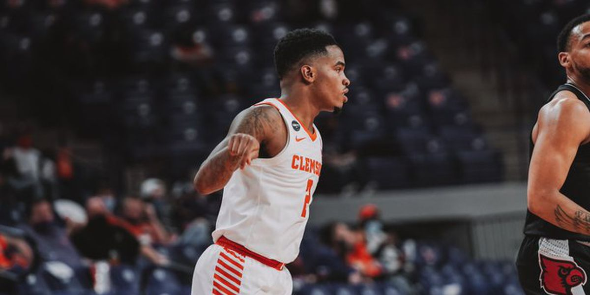 Simms leads Clemson to 54-50 victory over No. 25 Louisville