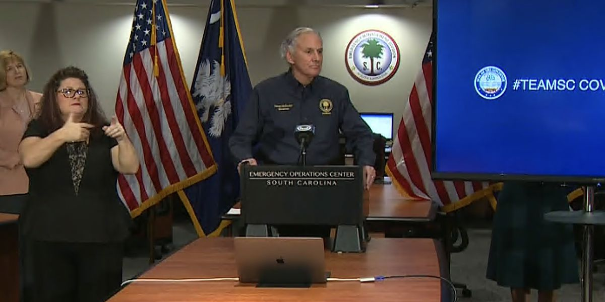 SC governor announces 'Palmetto Priority' program focused on restaurant safety