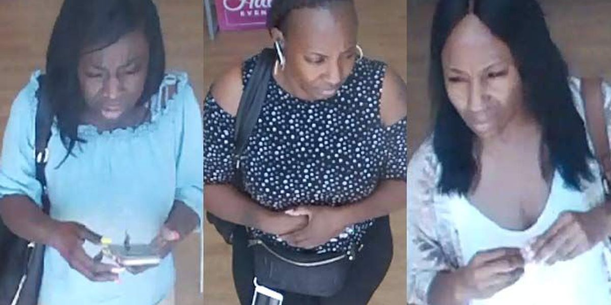 Police clear 2 in surveillance images in shoplifting case; 3 others sought