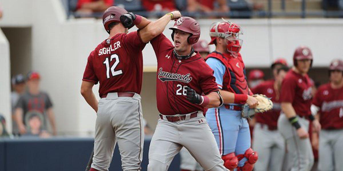 South Carolina gets swept by Ole Miss