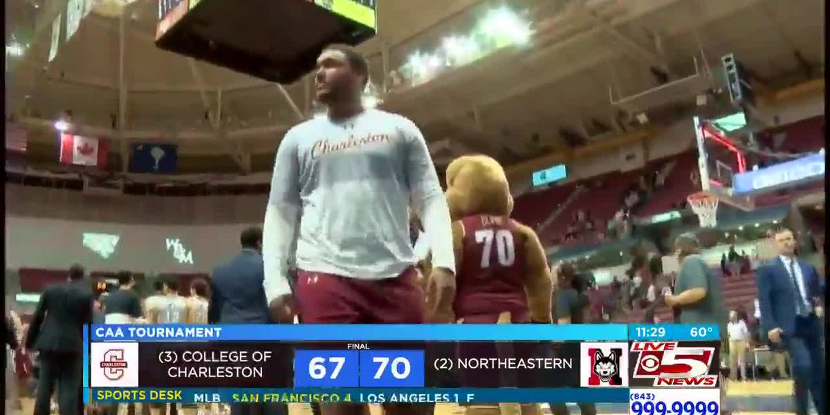 VIDEO: CofC falls in CAA semifinals to Northeastern