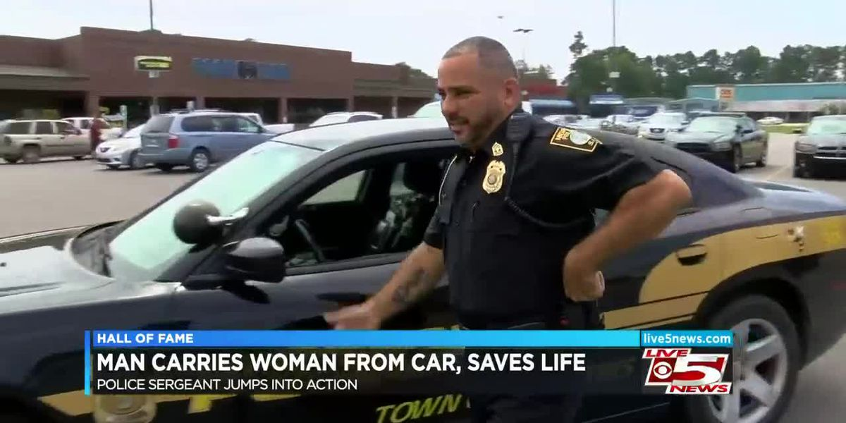 Hall of Fame: Police sergeant saves woman's life