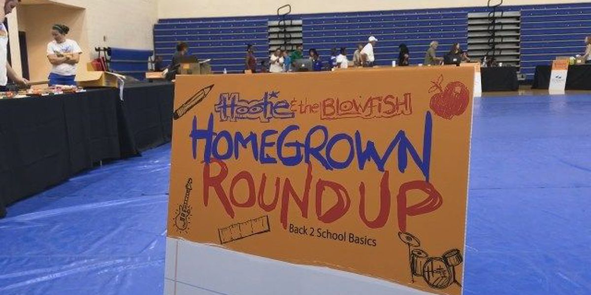 Hootie and the Blowfish donates school supplies to more than 1,500 students