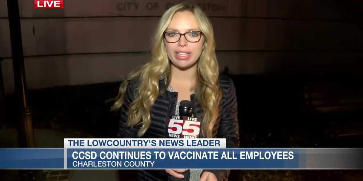 VIDEO: CCSD continues to vaccinate teachers