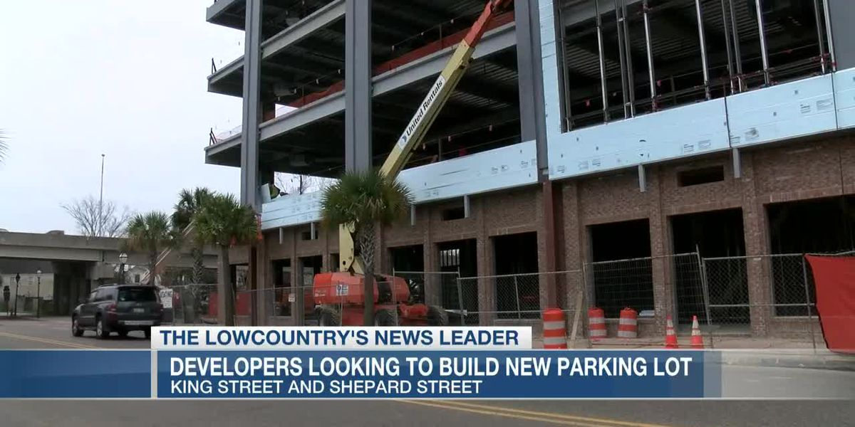 VIDEO: Developers seek approval for parking lot next to new downtown office building