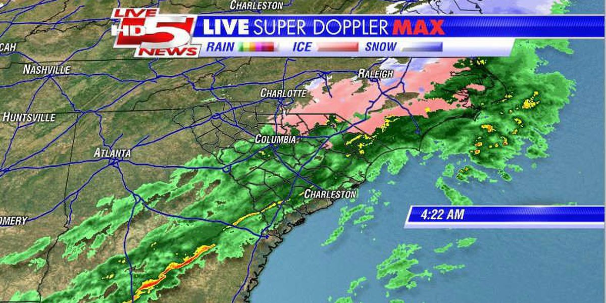 Storm moving out of SC, leaving power outages behind