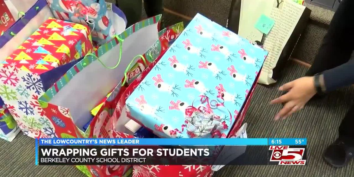 School administrators wrap presents for homeless students in 'Berkeley Wonderland' event