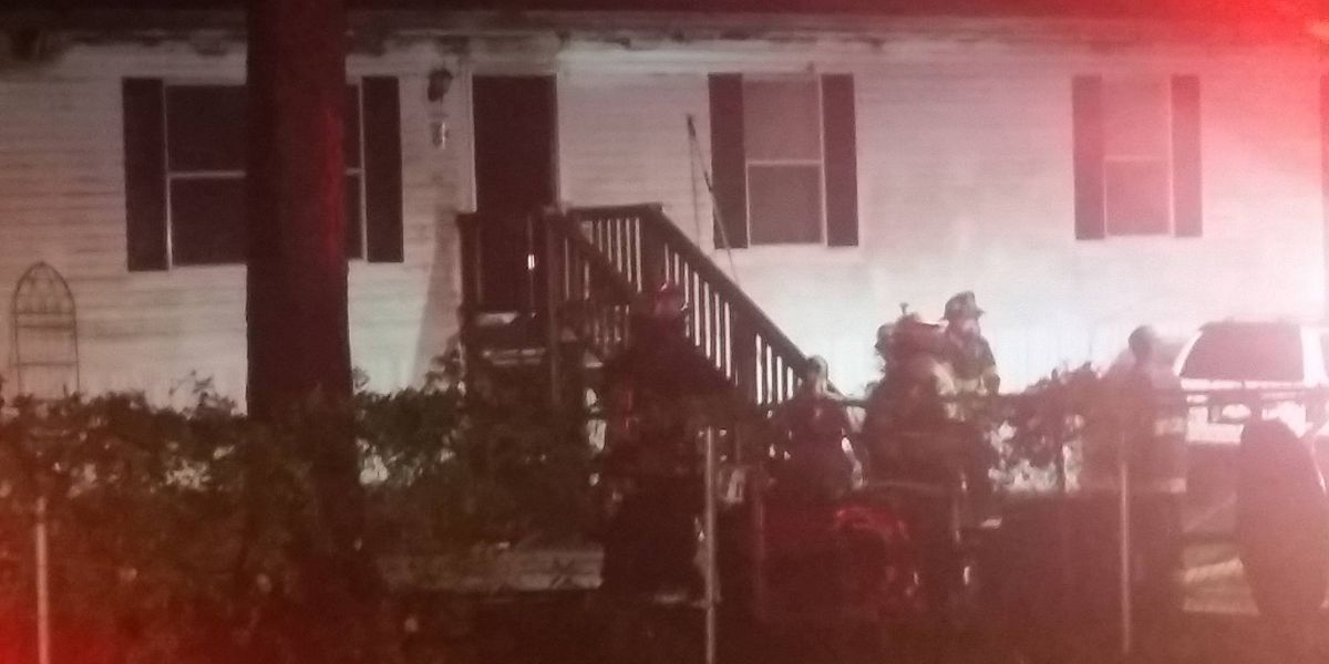 Emergency crews extinguish Moncks Corner house fire
