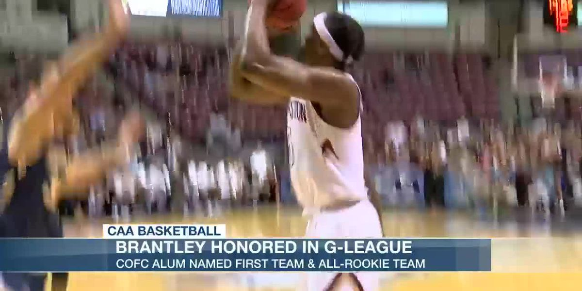 VIDEO: CofC alum Jarrell Brantley named 1st team All-NBA G League