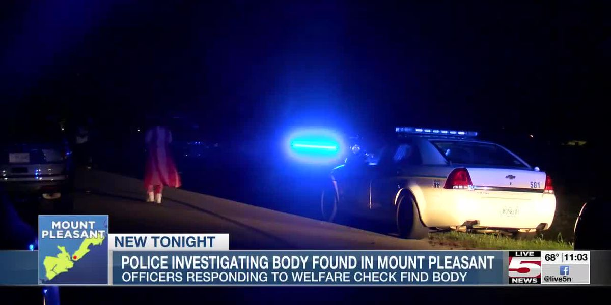 VIDEO: Police investigating after body found in Mount Pleasant