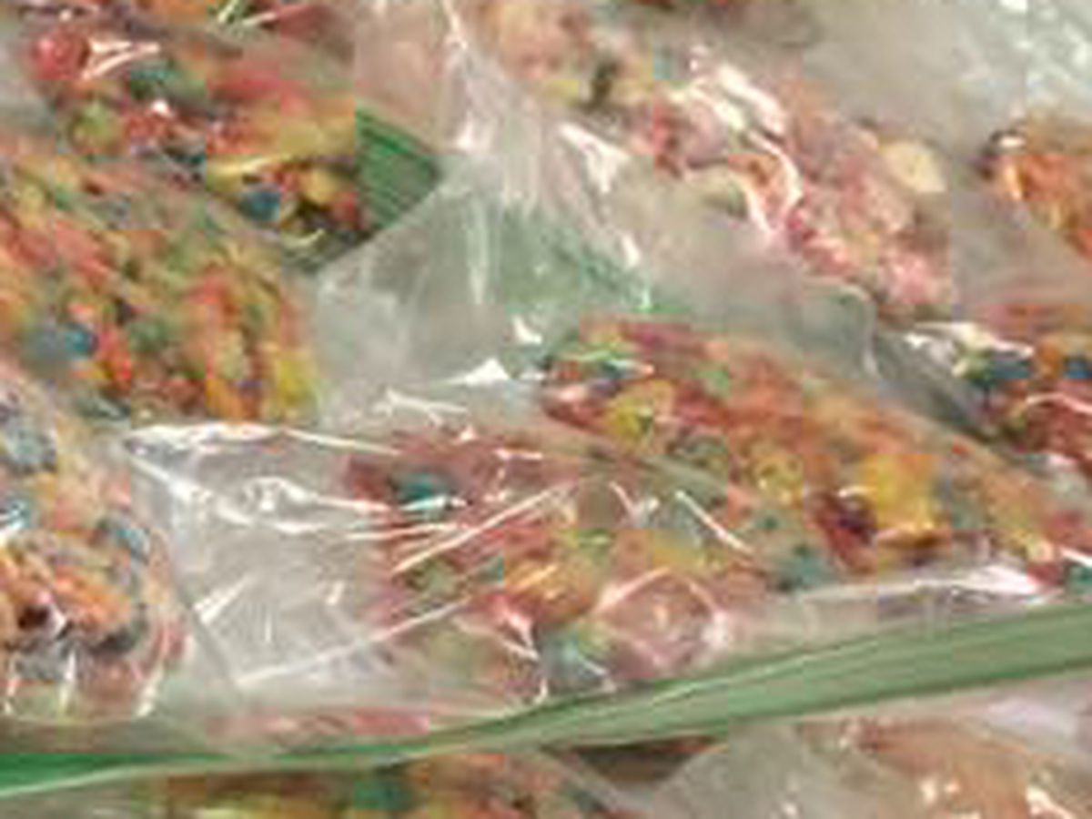 Deputies find edible marijuana in the form of fruity cereal treats in Summerville