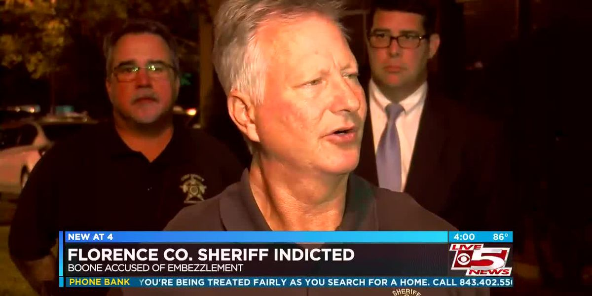 VIDEO: Florence County sheriff indicted on embezzlement, misconduct charges