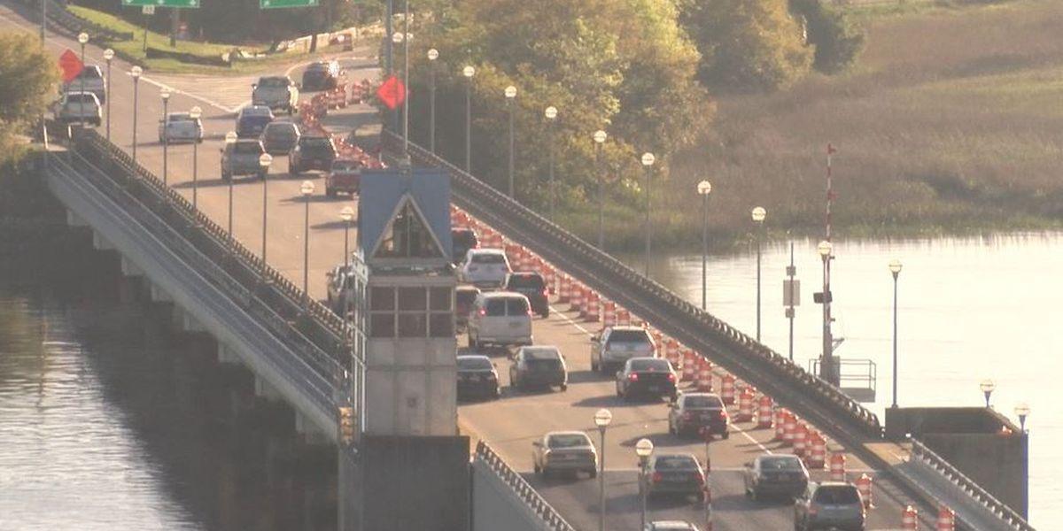 Ashley River Bridge bike lane still postponed
