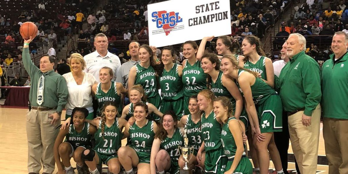Bishop England girls wins 3-A basketball state championship